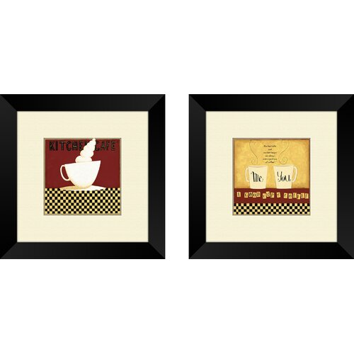Pro Tour Memorabilia Kitchen Chef 2 Piece Framed Graphic Art Set