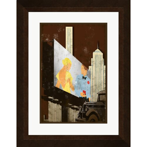 Pro Tour Memorabilia Outdoor Movie A Framed Graphic Art