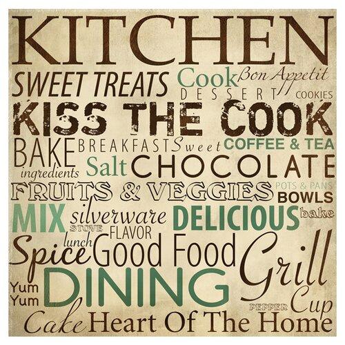Kitchen Typography Textual Art