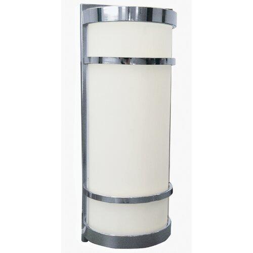 AFX Brio Half Cylinder 2 Light Outdoor Wall Sconce