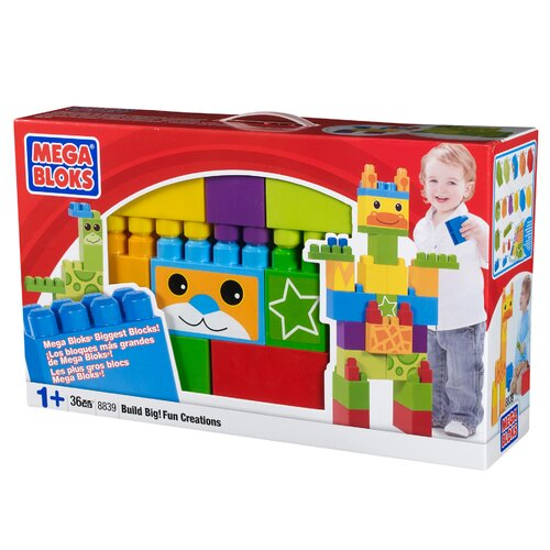 Mega Brands Build 'N Play Build Big! Fun Creations