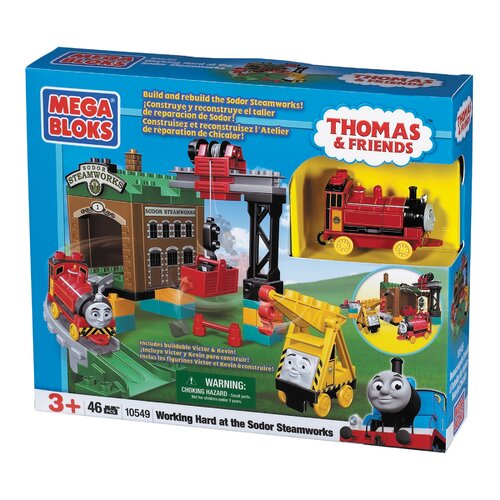 Mega Brands Thomas and Friends Working Hard at Sodor Steamworks