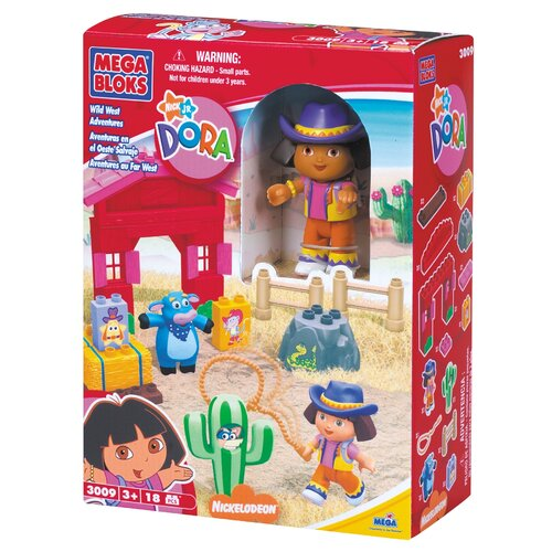 Nickelodeon Dora the Explorer Wild West Adventure