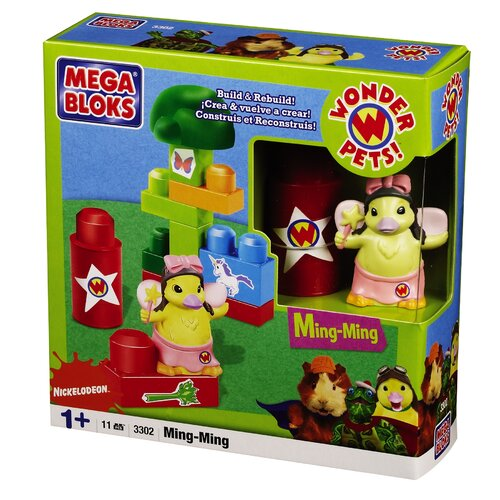 Mega Brands Nickelodeon Wonderpets Ming Ming Set