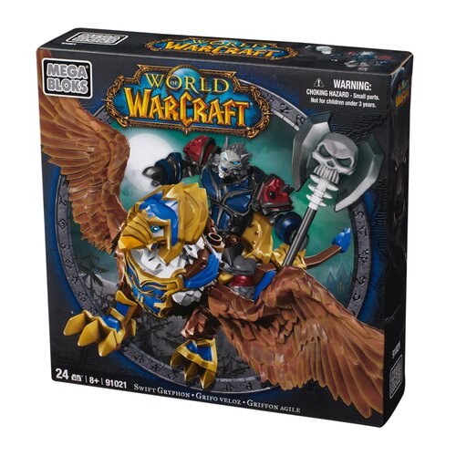Mega Brands World of Warcraft Swift Gryphon and Graven