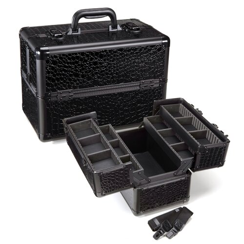 Seya Inc. Professional Makeup Cosmetic Train Case
