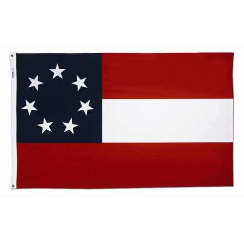Annin & Company Stars and Bars Traditional Flag