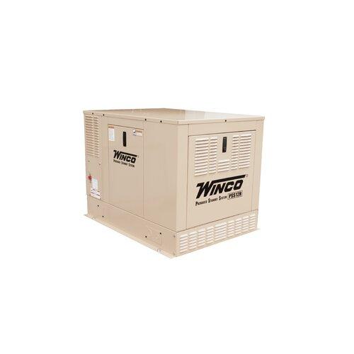 12 Kw Single Phase 120/240 V Natural Gas Propane Standby Generator