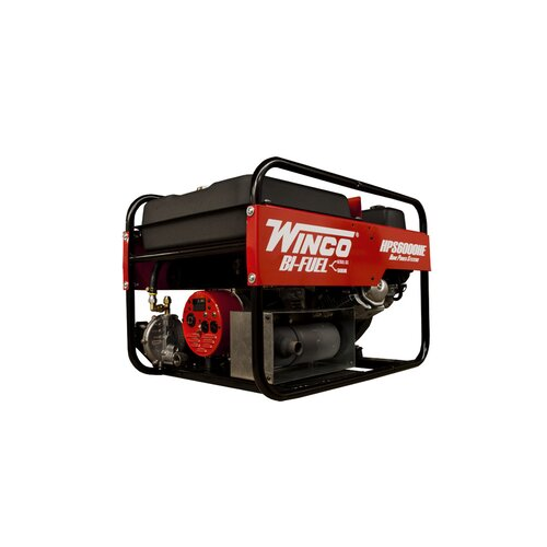 Winco Power Systems Home Power 6,000 Watt Bi Fuel Portable Generator