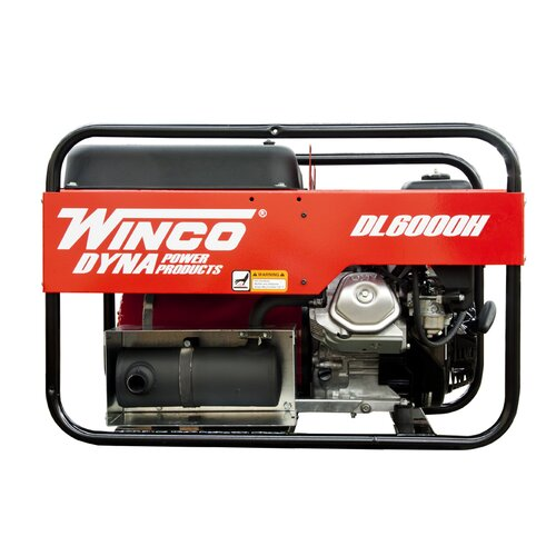 Winco Power Systems Dyna Consumer Series 6,000 Watt Portable Gas Generator