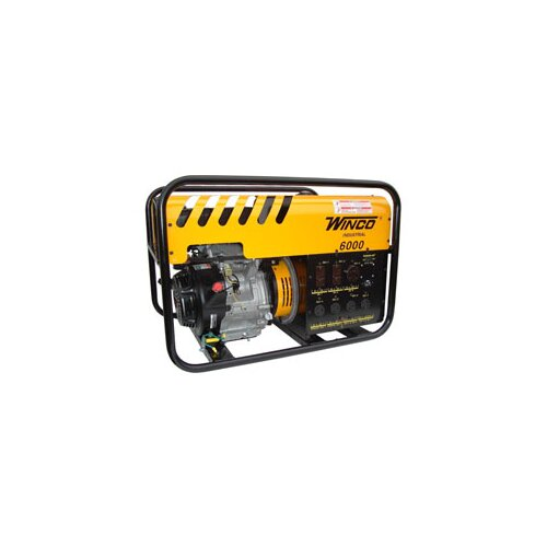 Industrial Series 6000 Watt Gasoline Generator