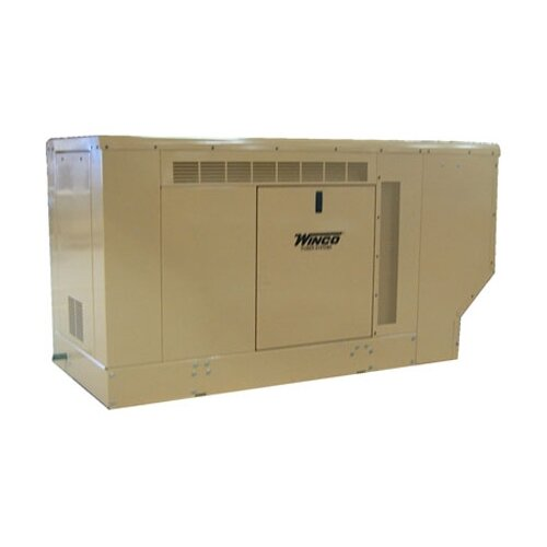 22 Kw Three Phase 120/240 V Natural Gas Propane Standby Generator