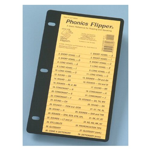 Christopher Lee Publications Phonics Flip Up Study Guide