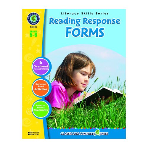 Classroom Complete Press Reading Response Forms Grs 5-6