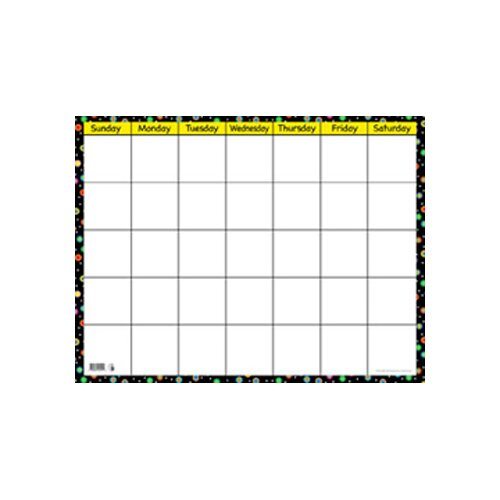Creative Teaching Press Poppin Patterns Small Calendar