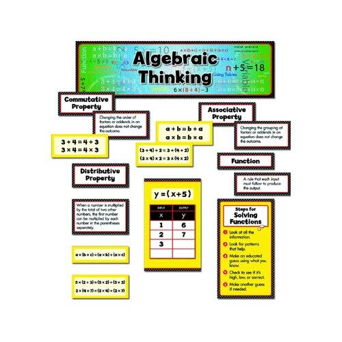 Creative Teaching Press Algebraic Thinking Mini Bbs Gr 3-5