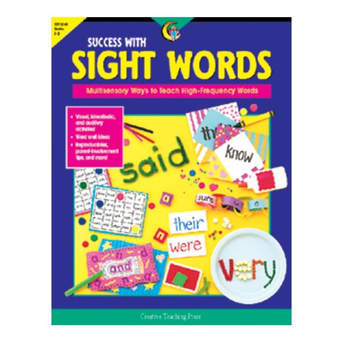Creative Teaching Press Success With Sight Words Gr 1-3
