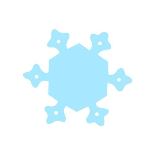 Creative Teaching Press Calendar Cut-outs Snowflake 31/pk
