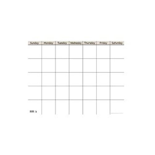 Creative Teaching Press Sm White Horiz Calendar