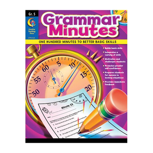Creative Teaching Press Grammar Minutes Gr 5