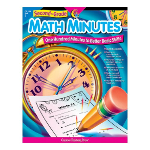 Creative Teaching Press Second-gr Math Minutes