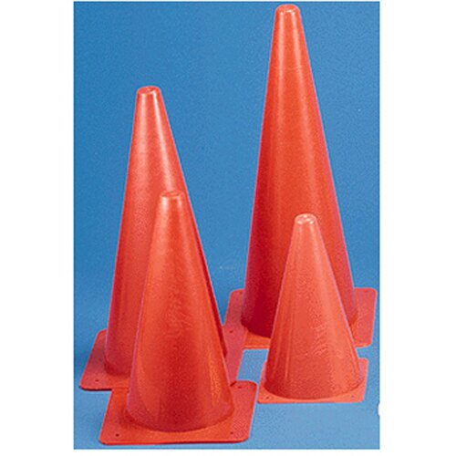 Dick Martin Sports Safety Cone 15 Inch With Base