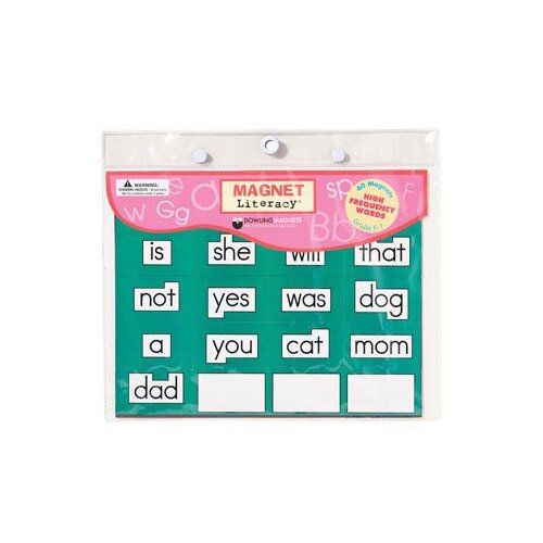 Dowling Magnets Magnet Literacy High Frequency Word