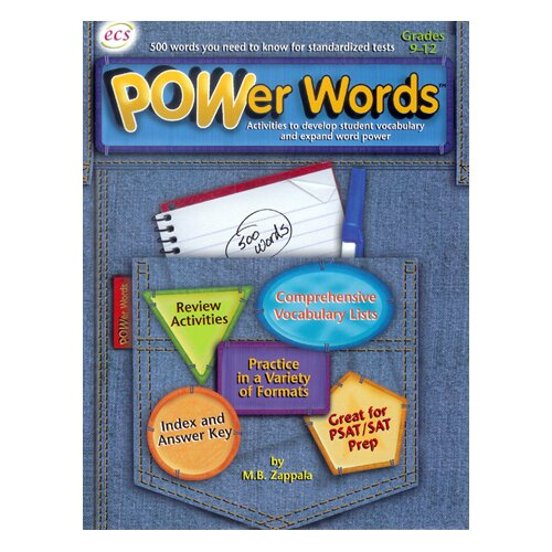 ECS Learning Resources Power Words Gr 9-12