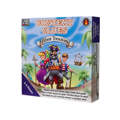 Edupress Context Clues Pirate Treasure Blue