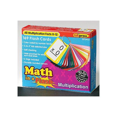 Edupress Math In A Flash Multiplication