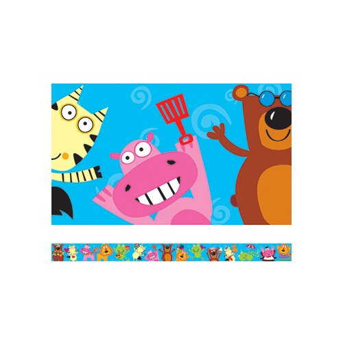Edupress Animal Fun Spotlight Border