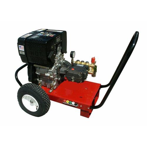 2500 PSI Cold Water Diesel Cart Pressure Washer