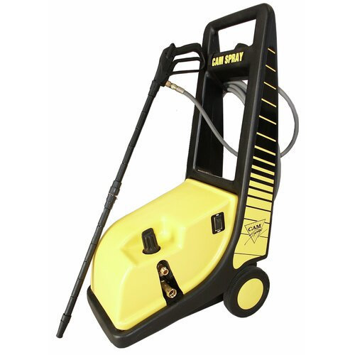 1000 PSI Cold Water Electric Roto Cart Pressure Washer with Electric Cut-Out Thermal Relief