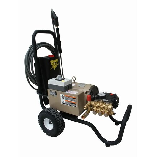 3000 PSI Cold Water Electric Tube Cart Pressure Washer with 7.5 HP Engine