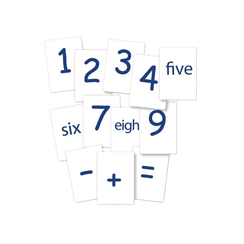 Essential Learning Products Number Cards