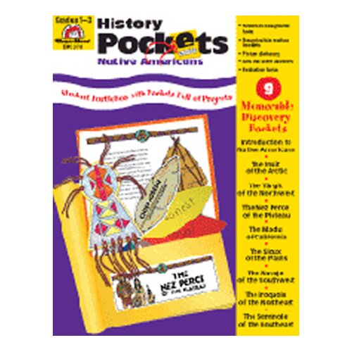Evan-Moor History Pockets Native Americans