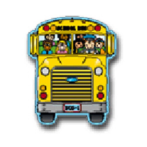 Frank Schaffer Publications/Carson Dellosa Publications Two-sided Decoration School Bus
