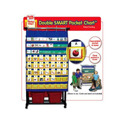 Frank Schaffer Publications/Carson Dellosa Publications Double Smart Pocket Chart 34 X 49