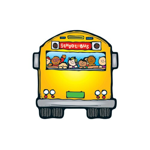 Frank Schaffer Publications/Carson Dellosa Publications Colorful Cut Outs School Buses