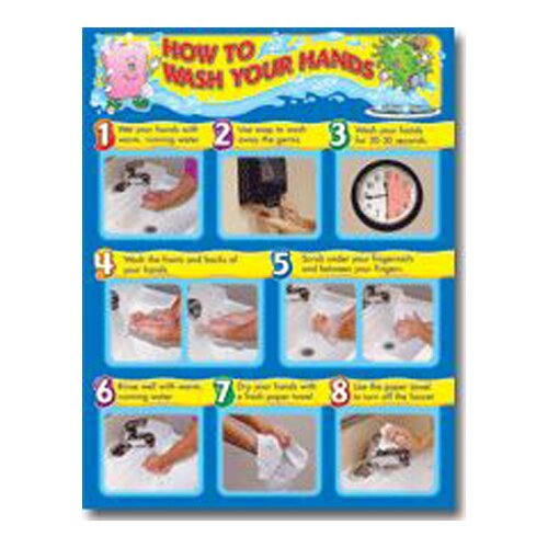 Frank Schaffer Publications/Carson Dellosa Publications How To Wash Your Hands