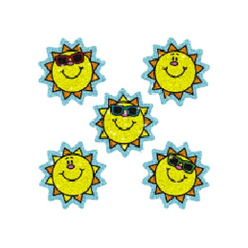 Frank Schaffer Publications/Carson Dellosa Publications Dazzle Stickers Suns 75-pk Acid &