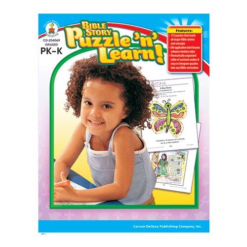 Frank Schaffer Publications/Carson Dellosa Publications Bible Story Puzzle N Learn Gr Pk-k
