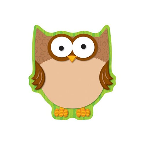 Frank Schaffer Publications/Carson Dellosa Publications Owl Notepad