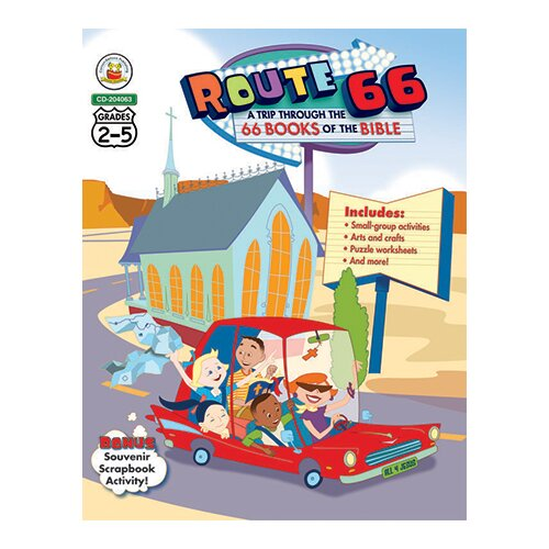 Frank Schaffer Publications/Carson Dellosa Publications Route 66 A Trip Through The 66