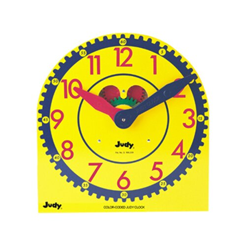Frank Schaffer Publications/Carson Dellosa Publications Color-coded Judy Clock