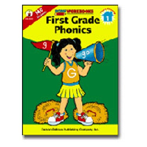 Frank Schaffer Publications/Carson Dellosa Publications Home Workbook First Gr Phonics