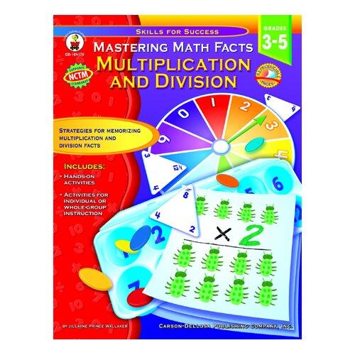 Frank Schaffer Publications/Carson Dellosa Publications Mastering Math Facts Multiplication