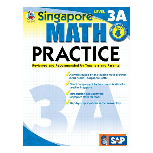 Frank Schaffer Publications/Carson Dellosa Publications Math Practice Level 3a Gr 4