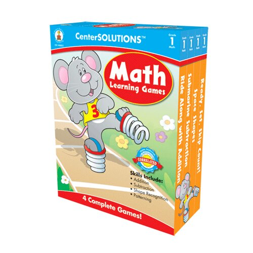 Frank Schaffer Publications/Carson Dellosa Publications Math Learning Games Gr 1