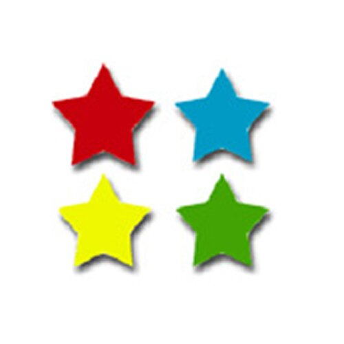 Frank Schaffer Publications/Carson Dellosa Publications Chart Seals Stars Multicolor 810/pk